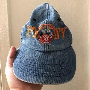 Vintage FDNY denim hat